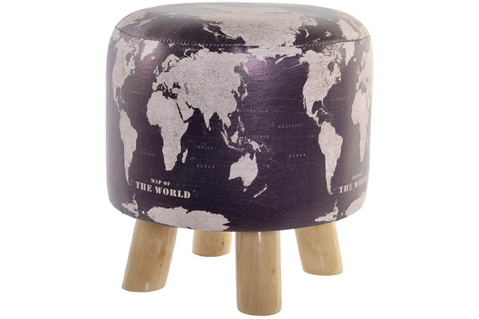 Stolica world map 30x30x32