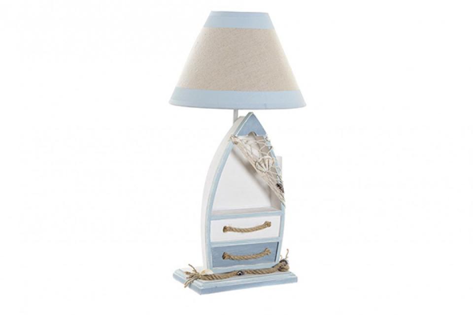 Stona lampa barka 25x25x51