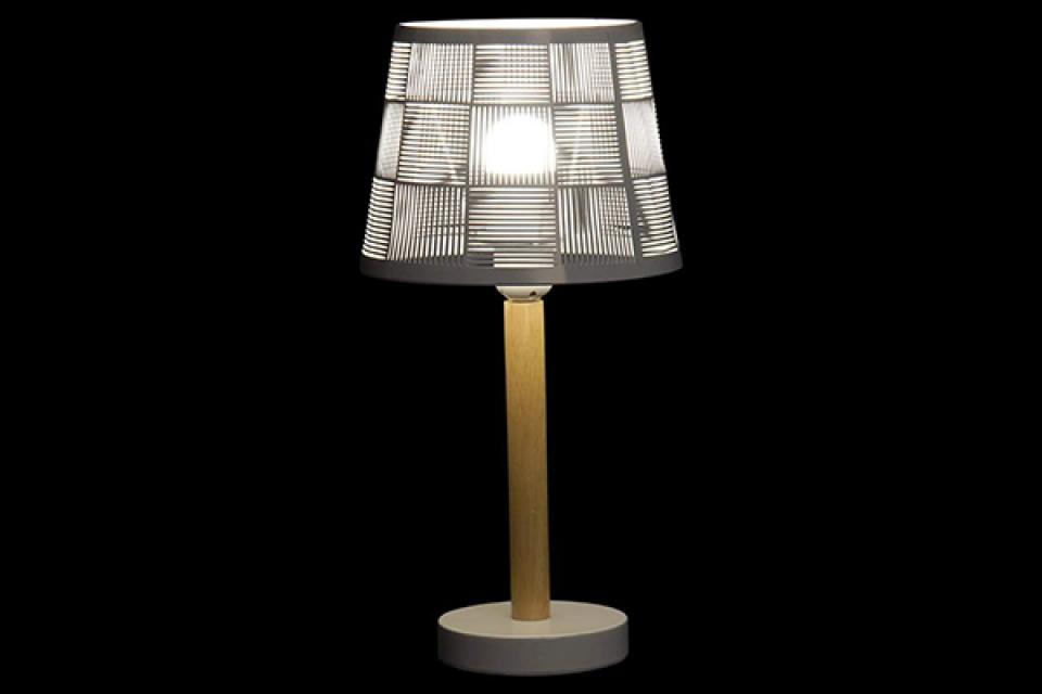 Stona lampa black and white 19,5x19,5x40 2 mod.