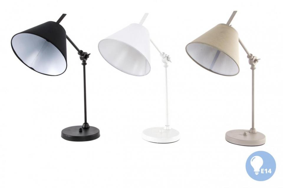 Stona lampa fabric 20x40 3 boje