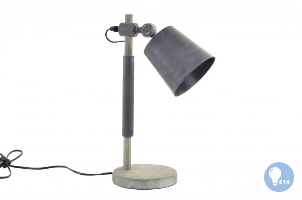 Stona lampa grey 16x25x41
