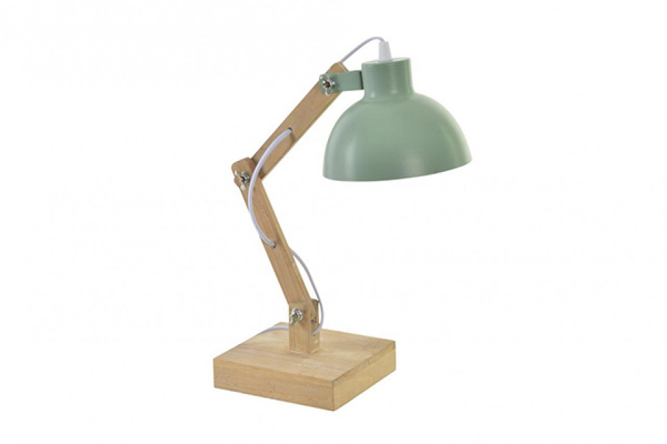 Stona lampa mint green 15x32x33, radne lampe