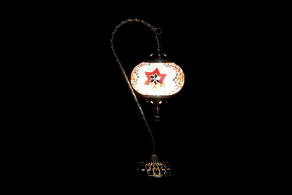 Stona lampa orijent 21x15x46 2 modela