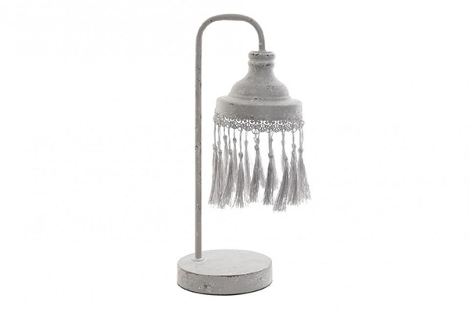 Stona lampa sa kićankama 15x19x38