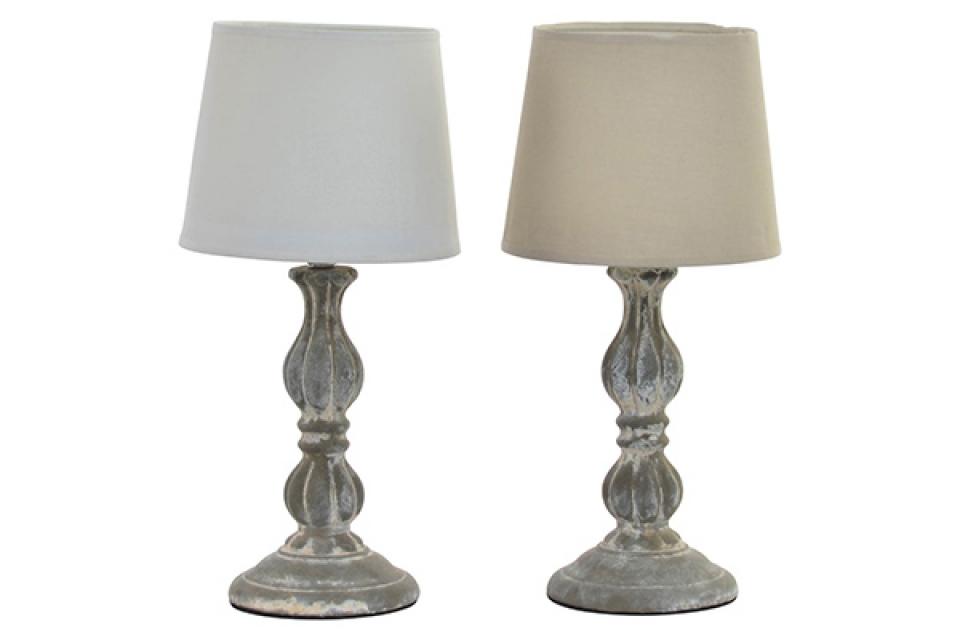 Stona lampa sa sivim postoljem 17x35 2 modela