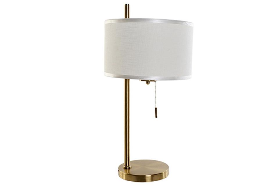 Stona lampa sa zlatnim postoljem 30x30x60