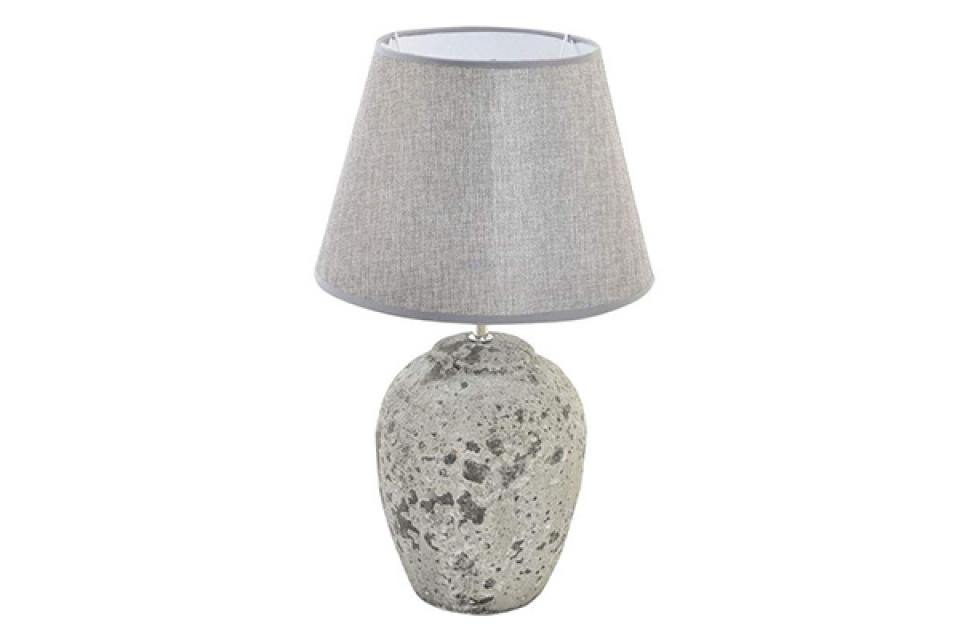 Stona lampa simil stone grey 28x43