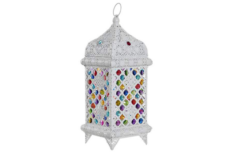 Stona lampa white 18x18x46