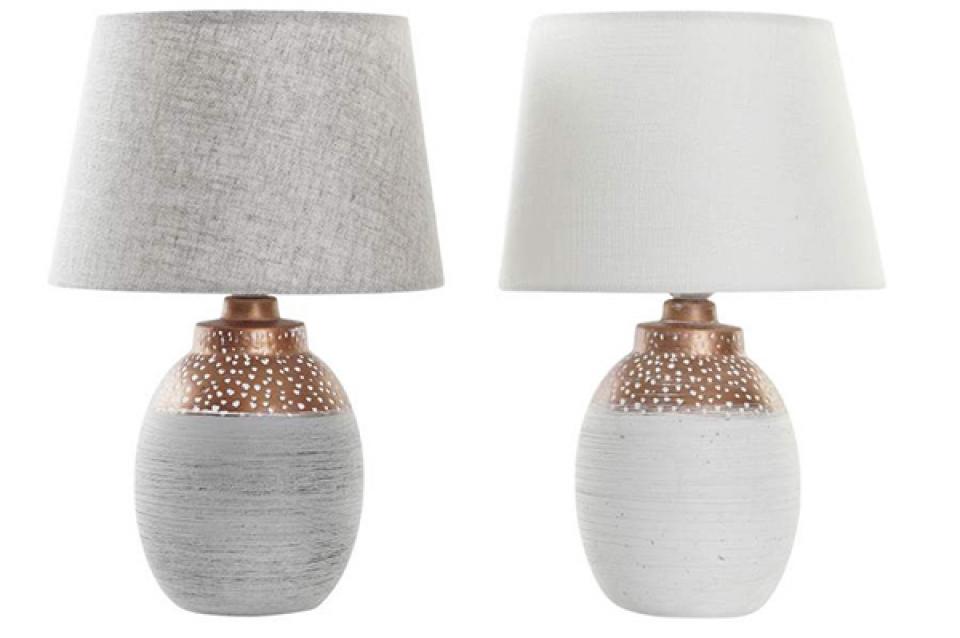 Stona lampa white 23x23x35 2 modela