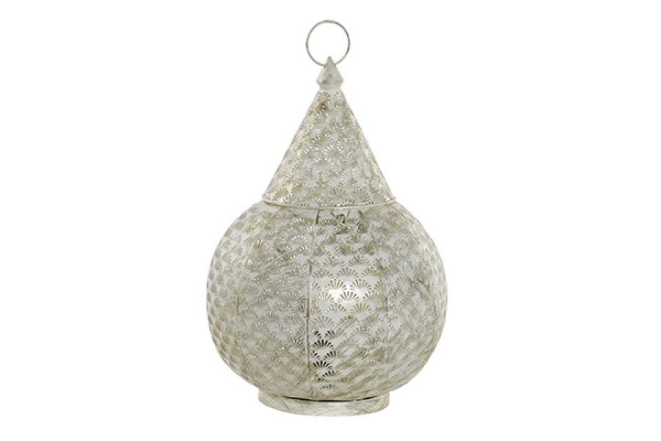 Stona lampa white 28x28x44