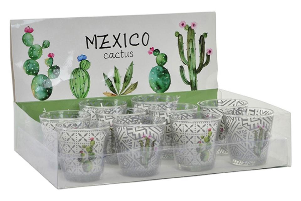 Sveća kaktus 7x7 76 gr.2 modela