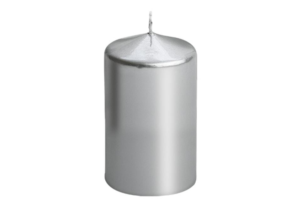 Sveca valjak 6*10 srebrna