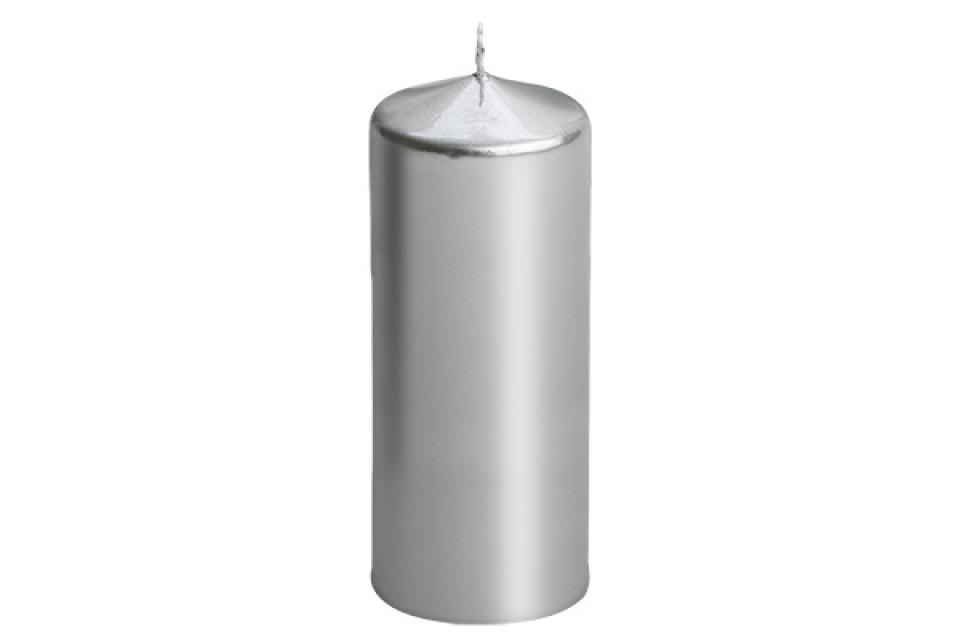 Sveca valjak 6*15 srebrna