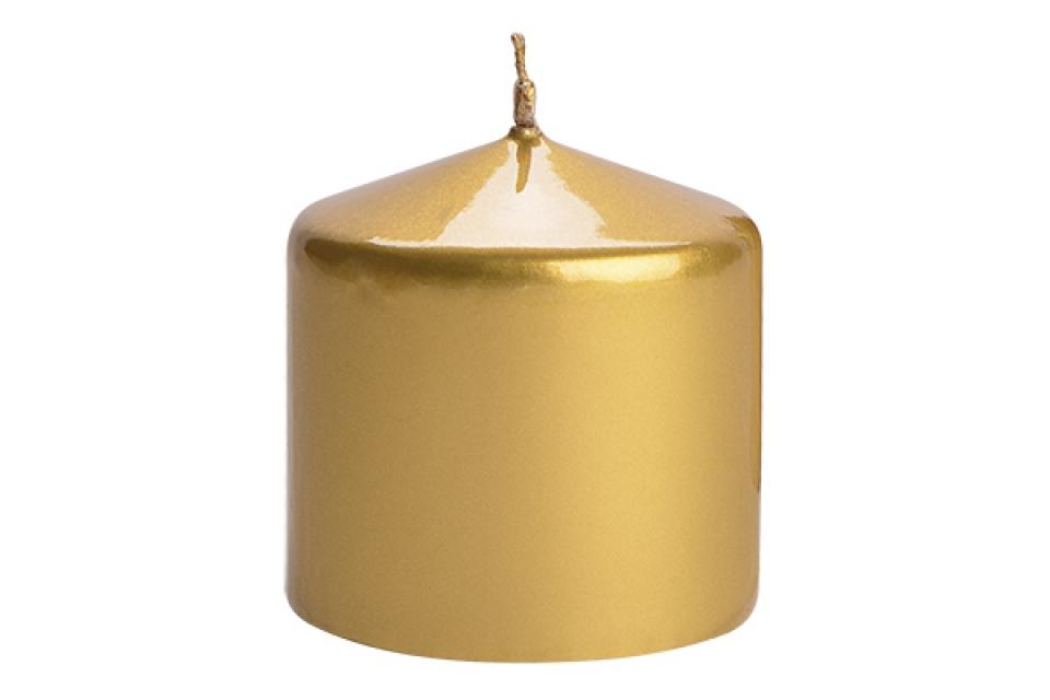 Sveca valjak 6*6 zlatna
