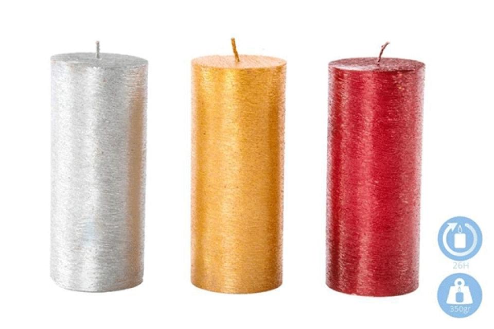 Svečane sveće 6x14 350 gr 3 boje