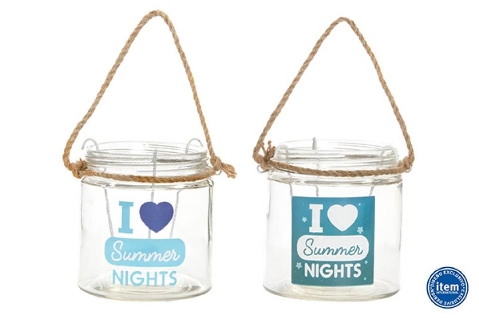 Svećnjak summer nights 11x12 2 boje