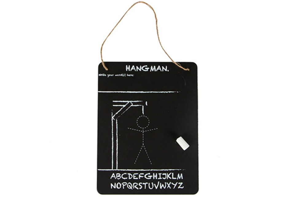 Tabla hang man 20 x 16