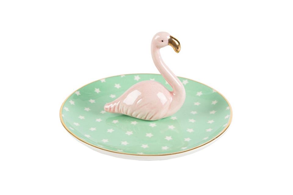 Tacna sa flamingosom 7,5 x 12,3 x 1,2