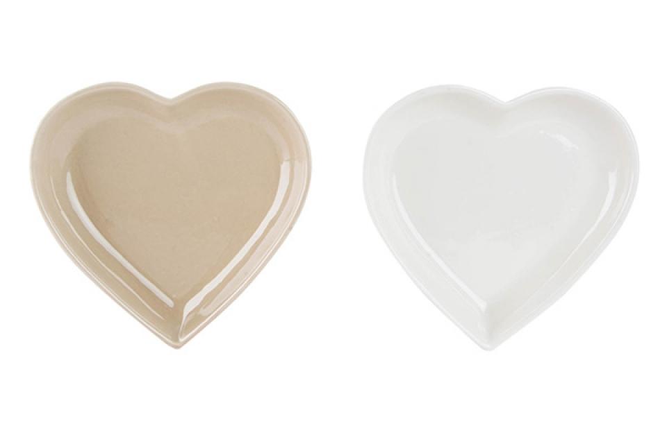Tacna srce 17x17x3 srce 2 boje