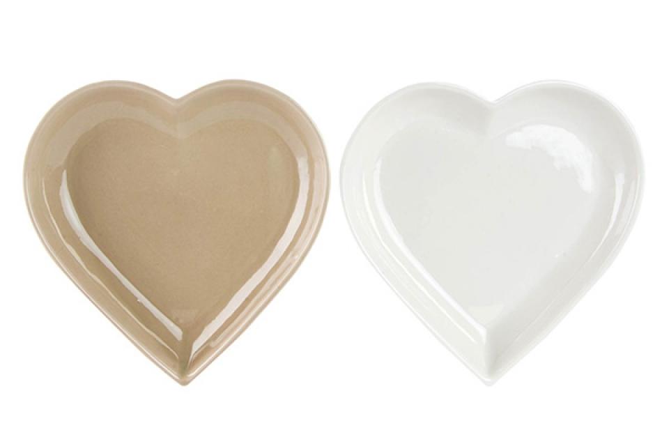 Tacna srce 22x22x3 srce 2 boje