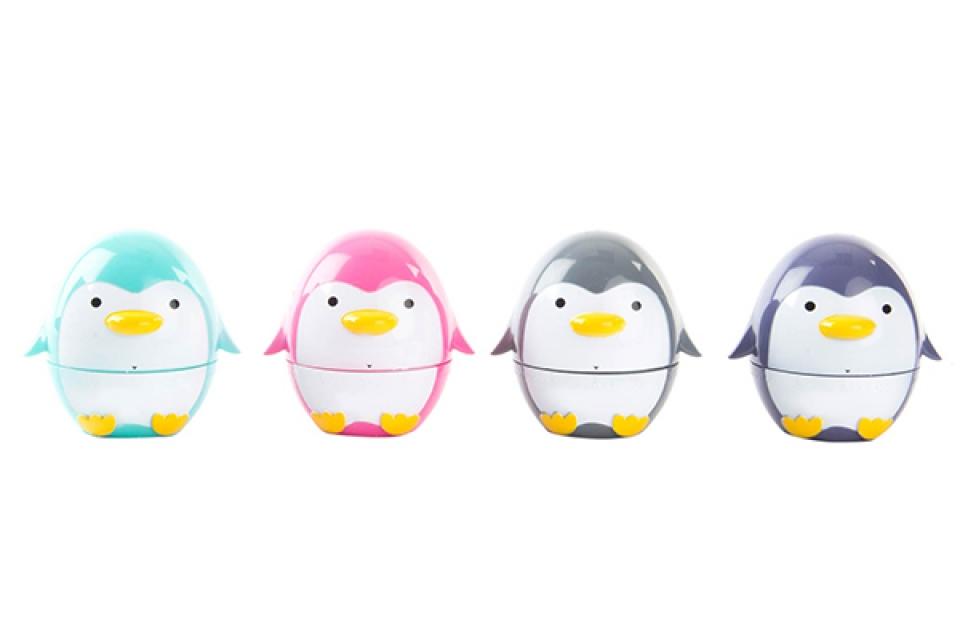 Tajmer pingvin 6,5x5 4 boje