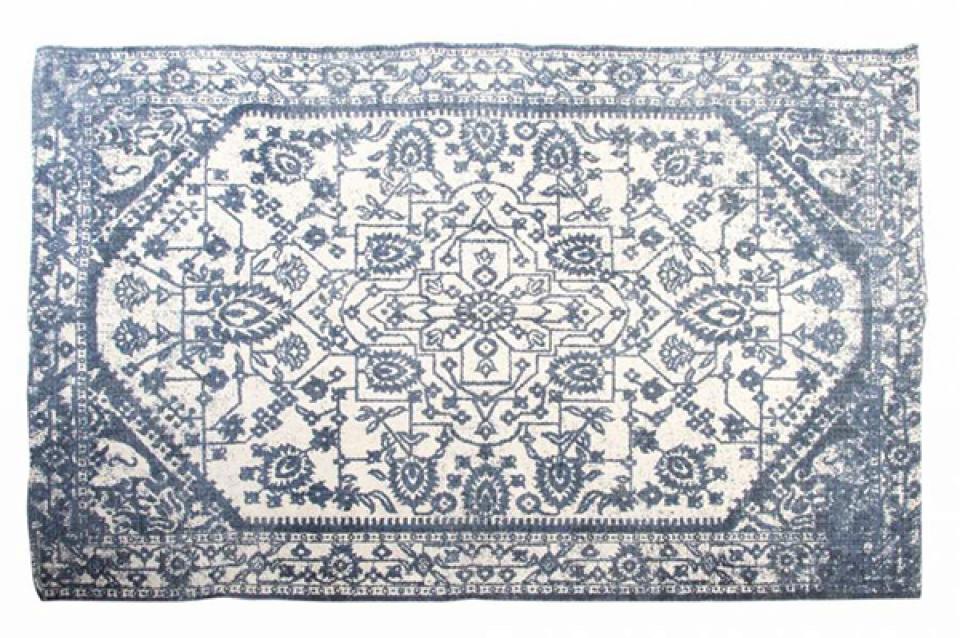 Tepih plavo beli 180x120 1000 gr