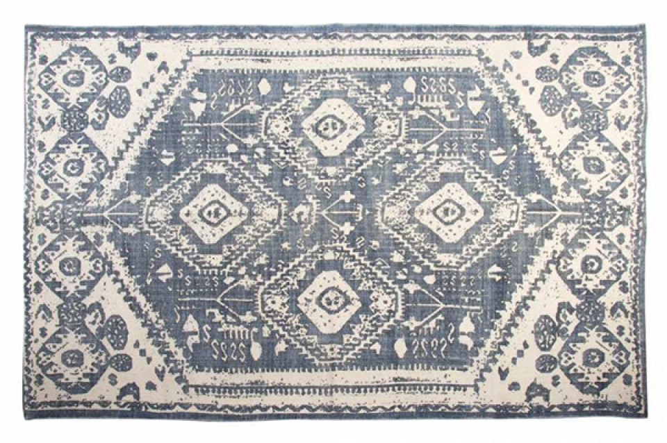 Tepih aged blue 180x120 1000 gr