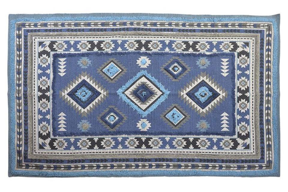 Tepih boho blue 180x120