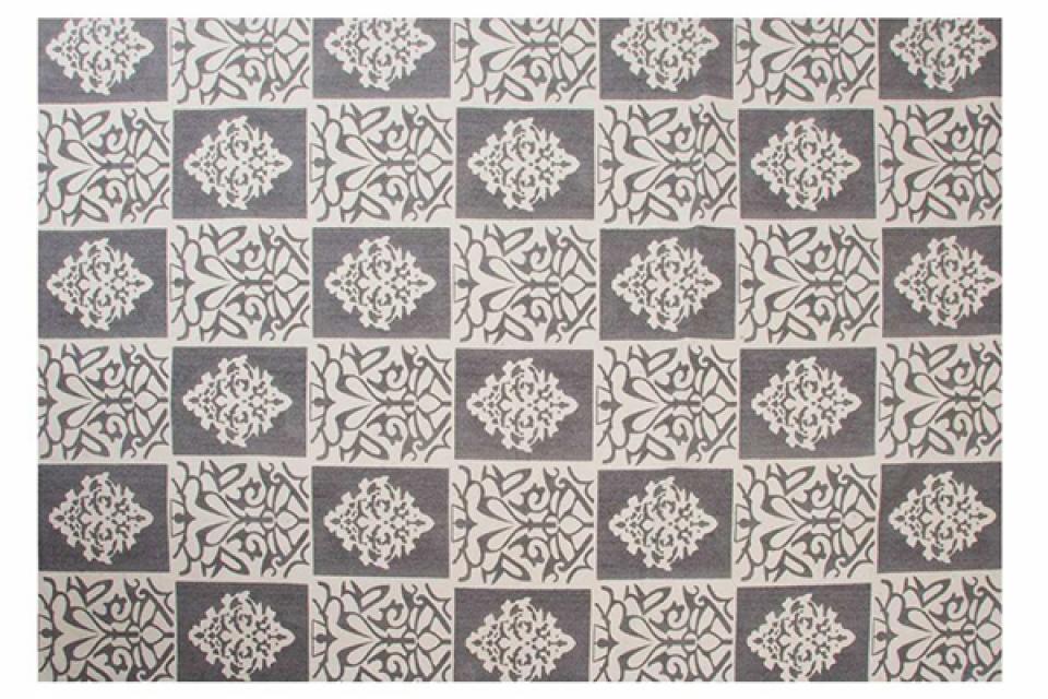 Tepih floral grey 230x160 1800 gr