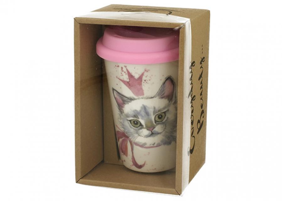 Termo šolja mačka 380 ml