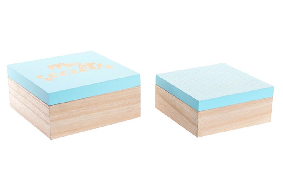 Tirkiz natur kutije 20x20x9,5