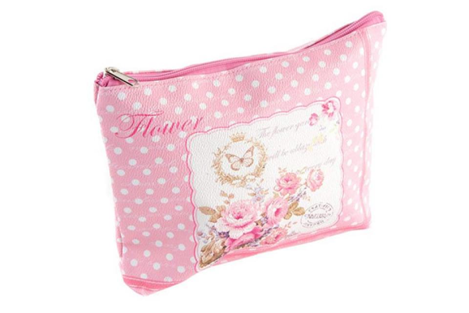 Toaletna torbica roze 24x4x18