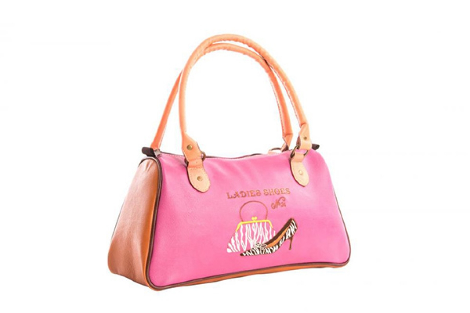 Torba fashion pink 38x14x20