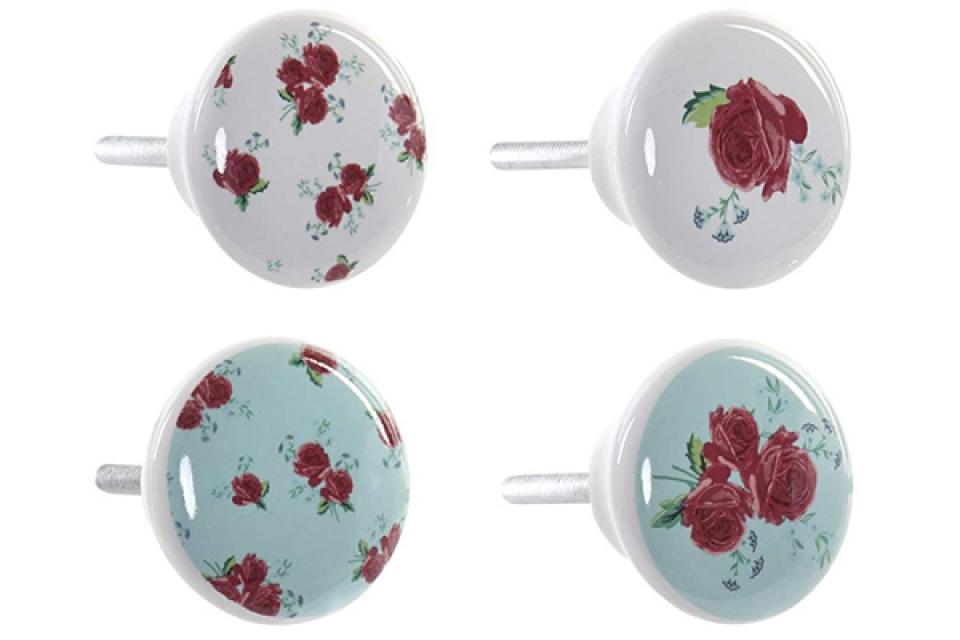 Ukrasna ručka za fioku flower 4x6x4 4 modela