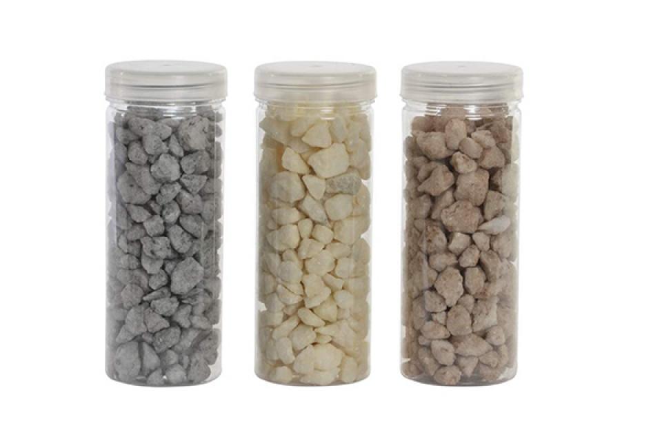 Ukrasni kamnčići 5,5x5,5x14 400 gr. 3 modela