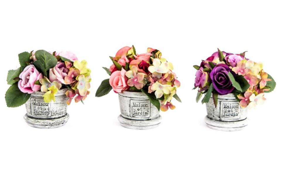Ukrasno cveće u saksiji 10x13 3 modela