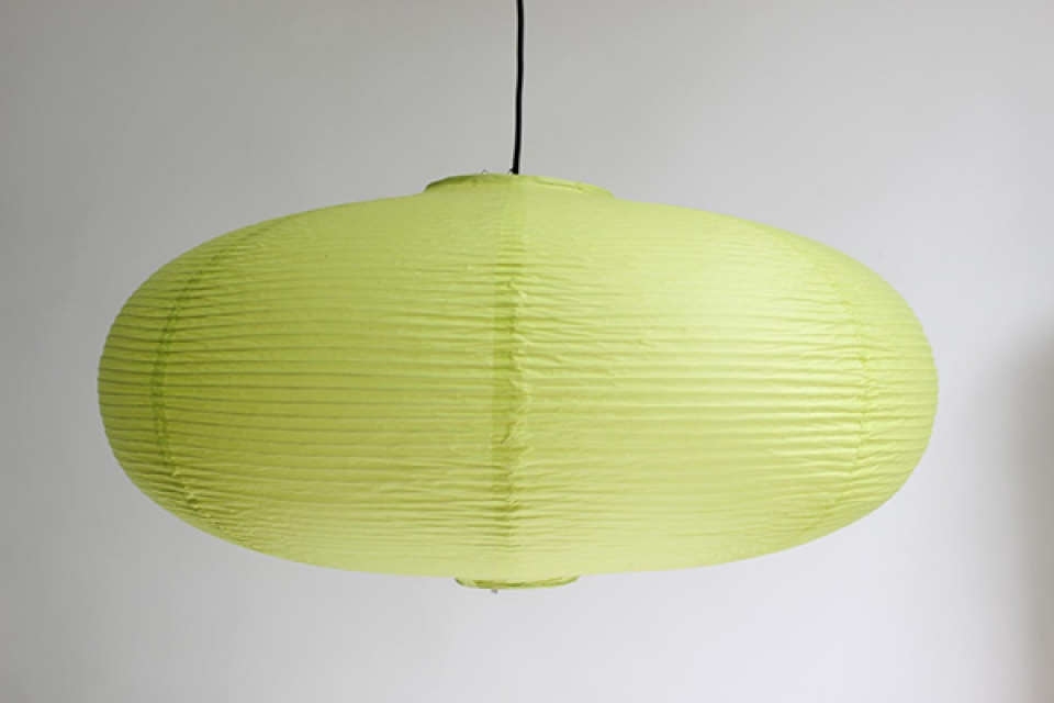Vate abažur 50cm svetlo zeleni