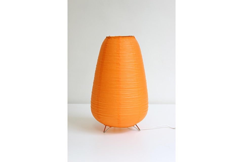 Vate stona lampa oranž