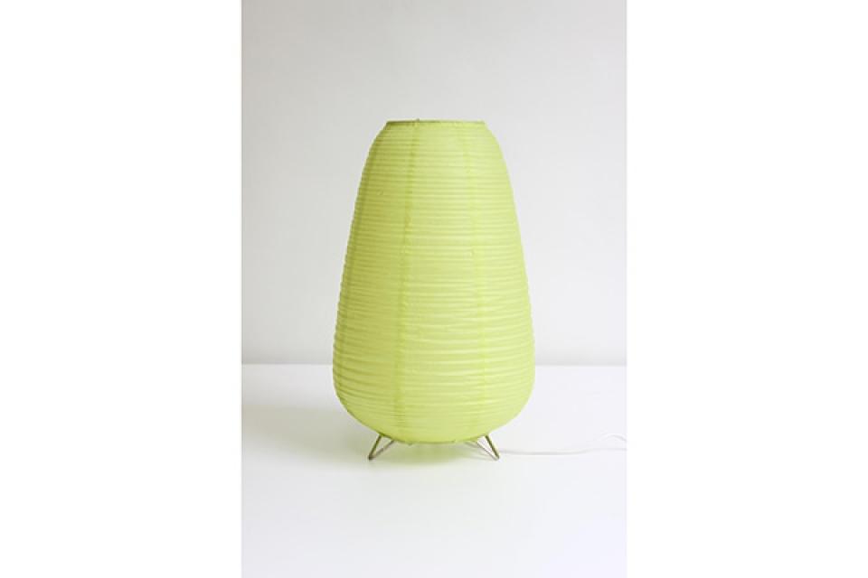 Vate stona lampa svetlo zelena, dekorarivna rasveta