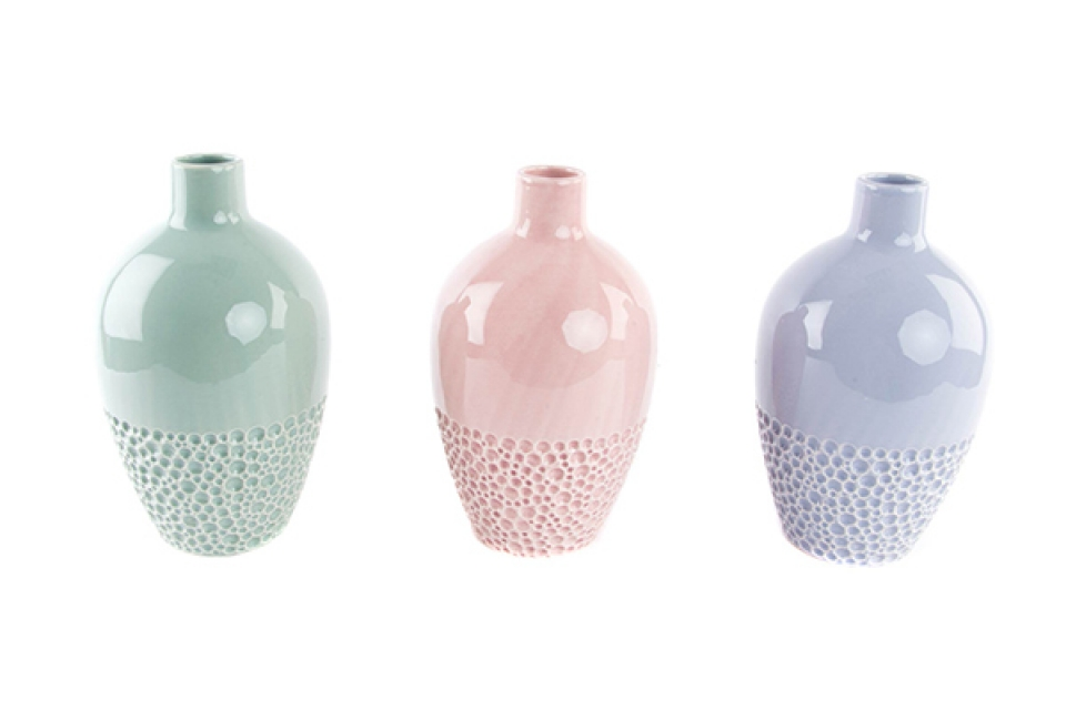 Vaza  boje 15x25 3 boje