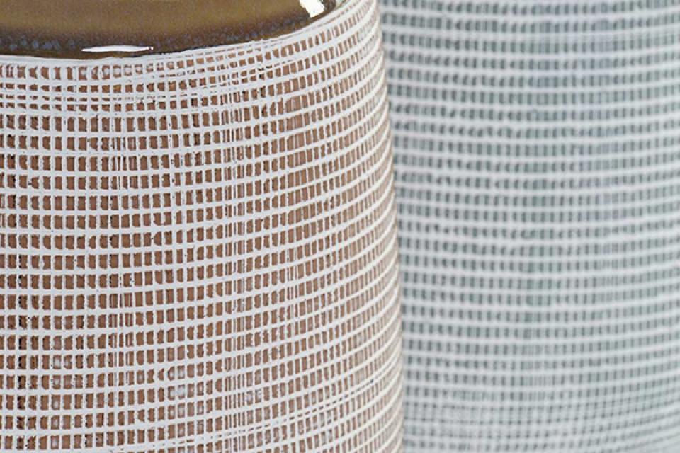 Vaza bicolor 20,2x20,2x26 2 modela