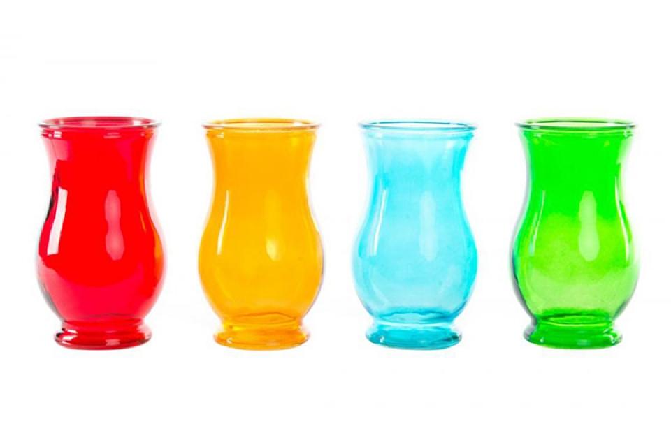 Vaza boje 10x17,5 4 boje