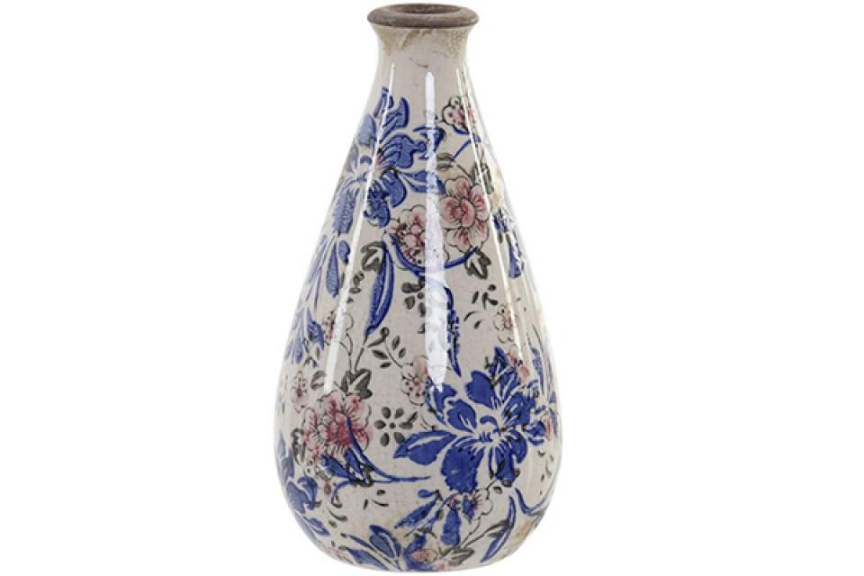 Vaza floral white 11x11x21