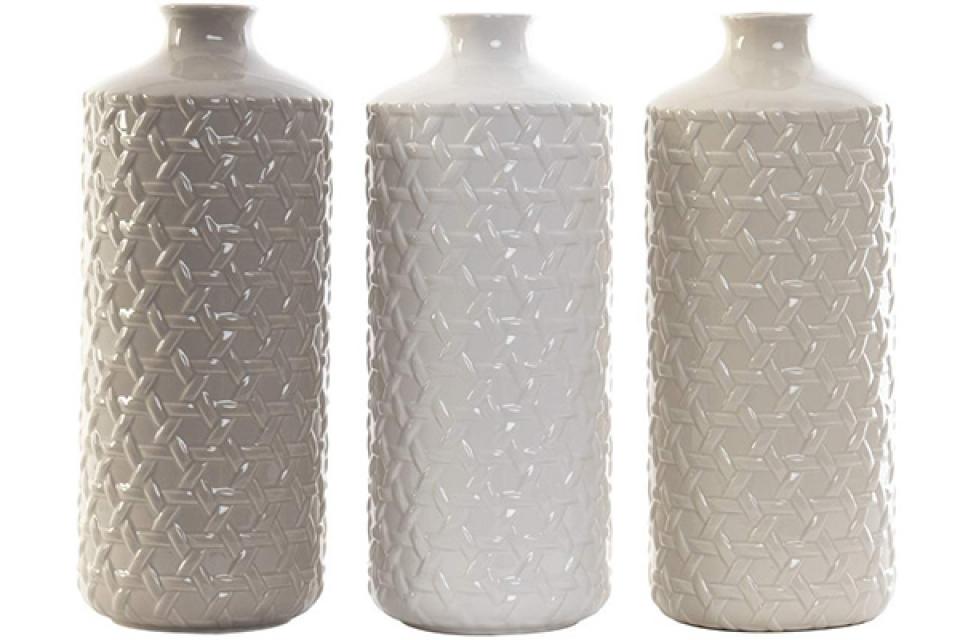 Vaza geometrik 2 13x33 3 boje