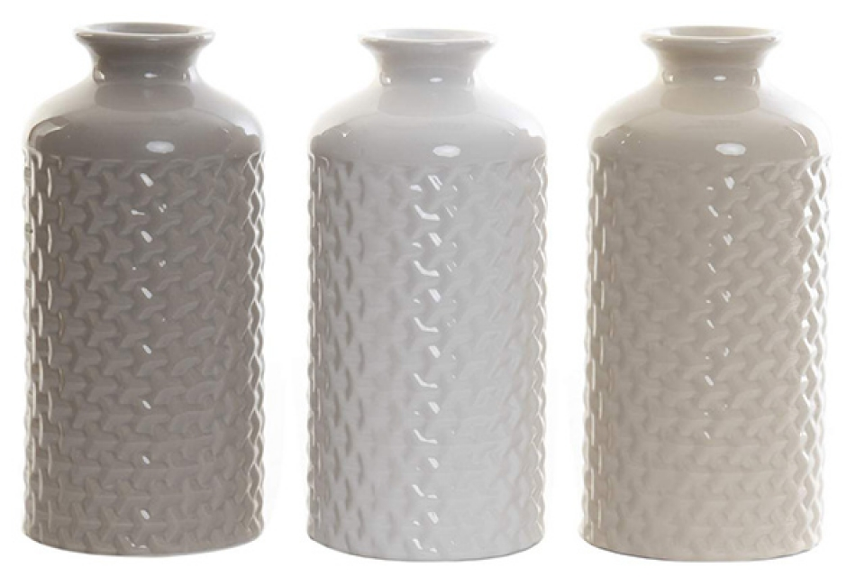 Vaza geometrik 9x20 3 boje