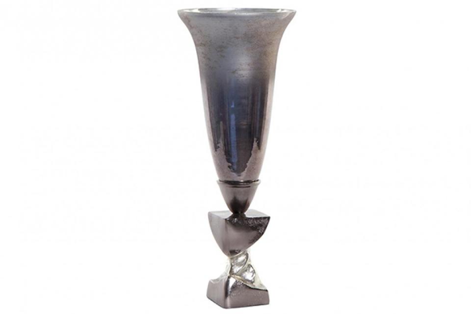 Vaza glazed grey ii  19,5x19,5x49