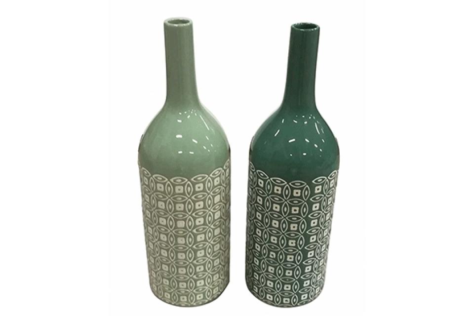 Vaza green 10,5x10,5x36 2 modela