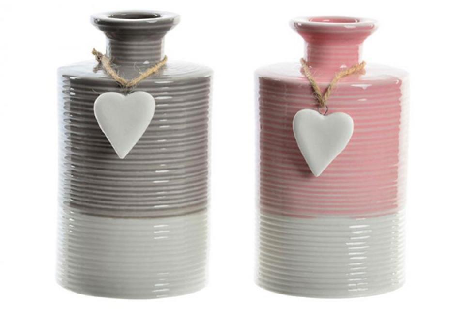 Vaza heart 9x15,5 2 modela