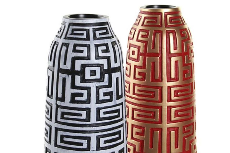 Vaza oriental golden 13x13x46 2 modela