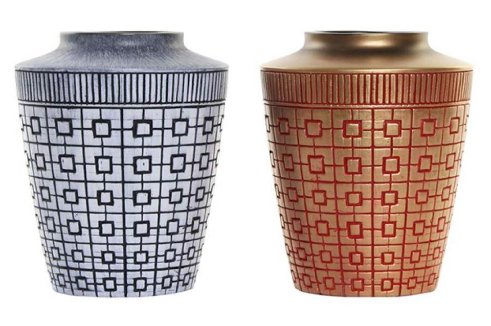 Vaza oriental golden i 17x17x20 2 modela